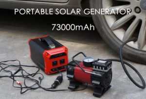 Portable Auto Solar Generator Solar Energy System with Solar Panels pictures & photos