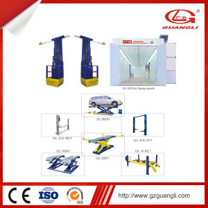 Factory Supply High Quality Portable One Cylinder Scissor Lift for Car Garage Workshop pictures & photos