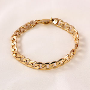 china xuping jewelry hot sale 18k gold color bracelet