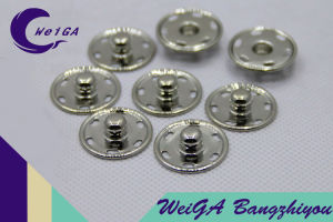 High Quality Metal Fastener 6-Hole Button Slive pictures & photos