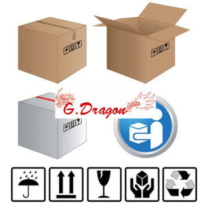 Shipping Boxes Cartons Packing Moving Mailing Box (CT1002) pictures & photos