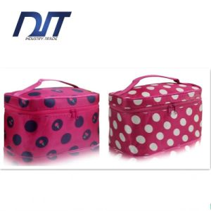 Korea Style Travel Portable Cosmetic Bag Large Capacity Folding Waterproof pictures & photos