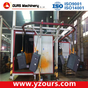 Fast Color Change Automatic Powder Coating Line for Metal Products pictures & photos