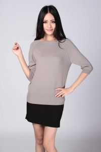 Ladies′ Fashion Cashmere Sweater (1500008077) pictures & photos