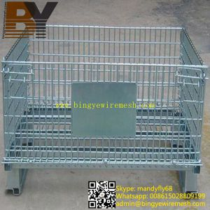 Wire Mesh Tray Supermarket Roll Container pictures & photos