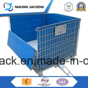Qualified China Steel Foldable Mesh Container pictures & photos