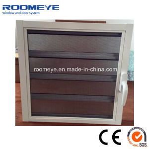 Roomeye Aluminium Alloy Shutter Window with Float Glass pictures & photos