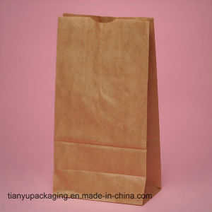 Carry Case Custom Printed Take Away Fast Food Kraft Paper Bag pictures & photos