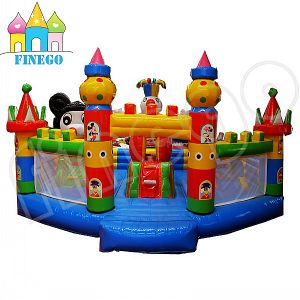Cheap Commercial Inflatable Round Air Jumping Bouncer for Fun pictures & photos