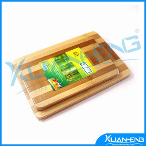 Anti-Bacterial Bamboo Cutting Board with Logo pictures & photos