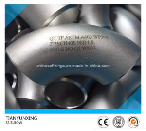 "3"" Std 90deg Lr Stainless Steel Seamless Elbow pictures & photos"