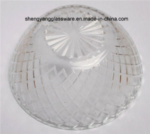 Free Sample Vegetable Salad Bowl Coining Prismatic Glass Bowl Fruit Bowl pictures & photos