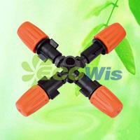 Orange Nozzle Cross Atomizers Micro Sprinkler (HT6341K) pictures & photos