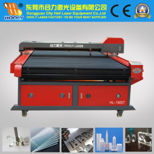 CO2 Laser Cutting Machine for Large Format Cloth Curtain Carpet