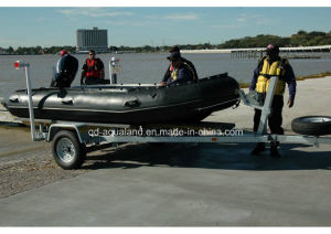 Aqualand 16FT 4.7m Semi-Rigid Inflatable Boat/Military Rescue Boat (470) pictures & photos