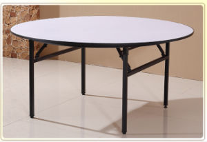 Folding Round Wedding Banquet and Hotel Table (M-X1205) pictures & photos