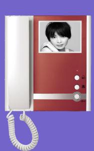 Red Intercom Doorbell