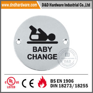 Stainless Steel Indication Sign Plate for Door pictures & photos