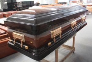 New Model Wooden Coffin (WM02) pictures & photos