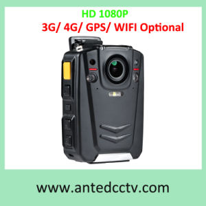 HD 1080P Police Body Worn Camera Optional with 3G 4G GPS WiFi 16GB/32GB/64GB/128GB/256GB pictures & photos