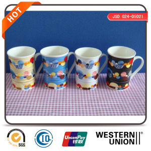 Painting Porcelain Mugs Coffee Mugs pictures & photos