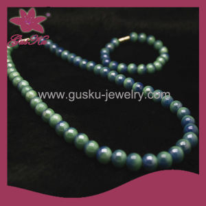 Handmade Bead Fashion Costume Jewelry Necklace (2015 Tmns-084) pictures & photos