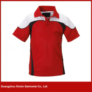 2017 New Design Dri Fit Quick Dry Running Red T Shirts (P60) pictures & photos