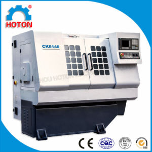 High Precision CNC Flat Bed Lathe (CK6140) pictures & photos
