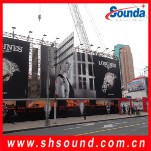 Outdoor Advertising PVC Frontlit Flex Banner (SF550) pictures & photos