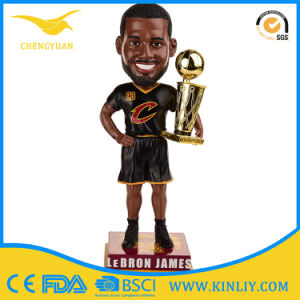 OEM James Poly Resin Doll Bobblehead Craft for Decoration pictures & photos