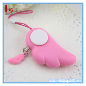Wholesale Portable Angle Wings Shape Security Personal Alarm 90dB-120dB pictures & photos