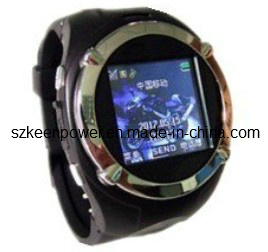 1.5nch TFT Touch Screen Quad-Bands Bluetooth Generous Watchphone Mobile Phon pictures & photos