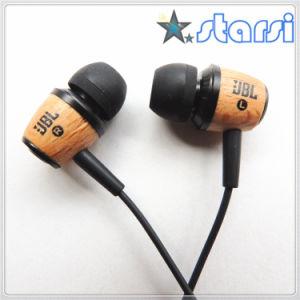 Wood Bass High Quality Stereo Earphone (stjbl)