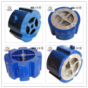 Cast Iron Wafer Type Spring Silent Check Valve pictures & photos