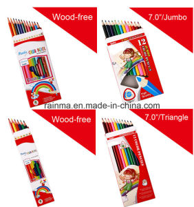 Wood Free Colour Pencil with Cheap Price pictures & photos
