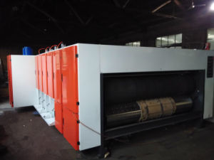 Four Color Corrugated Cardboard Printing Die-cutting Machine pictures & photos