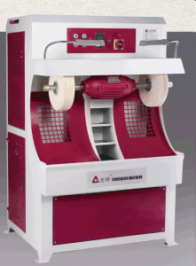 Double-Head Stepless Polishing Machine for Shoe pictures & photos