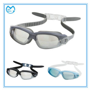 Swimming Accessories Silicone Prescription Adjustable Swimming Goggles pictures & photos