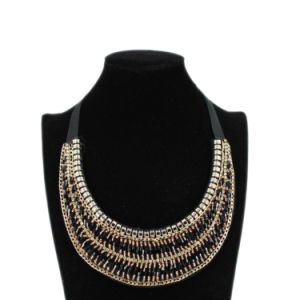 Fashion Collar Type Diamond Necklace (40202)