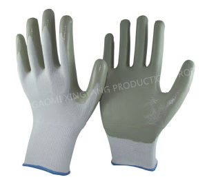 Nitrile Gloves, Labor Protective, Safety Work Gloves (N6029) pictures & photos