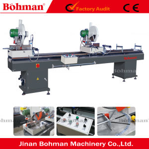 Double-Head Cutting Saw for PVC Profile pictures & photos