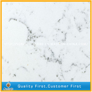 Engineered Solid Surface Artificial Quartz Stone for Kitchen/Bathroom/Shower pictures & photos