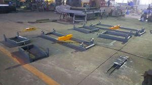 Ics Electronic Roller Conveyor Belt Scale for Coal Plant pictures & photos