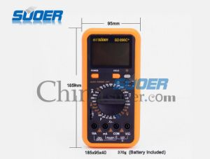Suoer Automotive High Quality Digital Multimeter (SD_890C+) pictures & photos