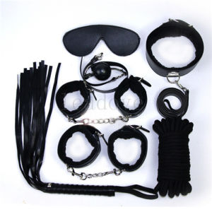 Sex Bondage Kit Set 7PCS Adult Sex Game Toy Bed Restraint System Sexy Product Fetish Erotic pictures & photos