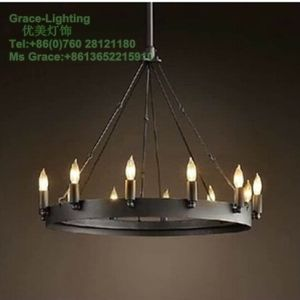 Post Modern Pendant Lamp Candle Chandelier (GD-0302-10) pictures & photos