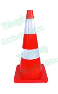 "Road Safety 28"" High Orange PVC Saftey Traffic Cones"
