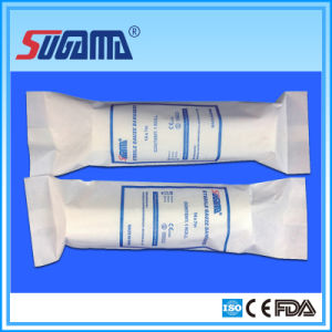Medical Absorbent Cotton Gauze Bandage (10CMX5YARDS) pictures & photos