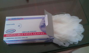 Disposable Medcial Use Vinyl Gloves, PVC Gloves pictures & photos
