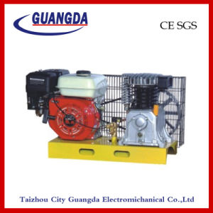 5.5HP Gasoline Base Plate Air Compressor (DCV2055) pictures & photos